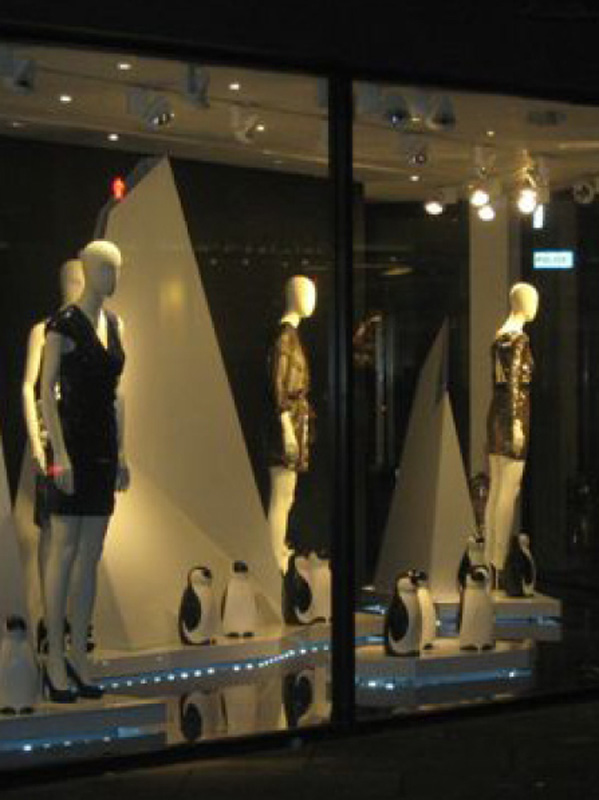 Joseph, Winter Shop Display CS Interiors